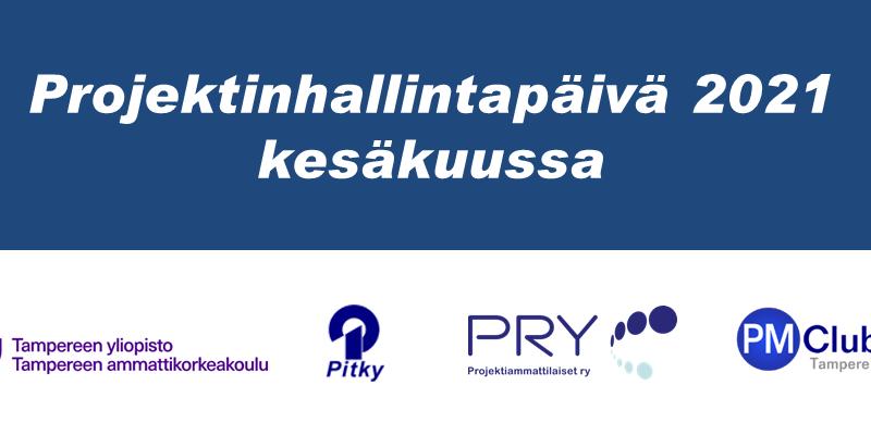 Projektinhallintapäivä-banneri