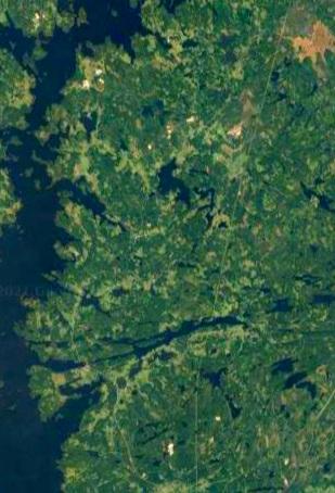 Teisko satelliittikuvassa